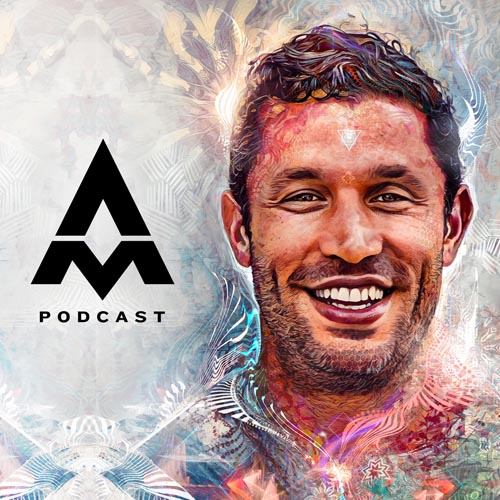aubrey marcus podcast logo